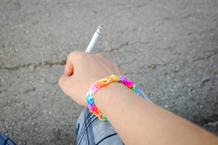 Photo Les ado et la cigarette Martine Roux www.luminotherapie-formation.com