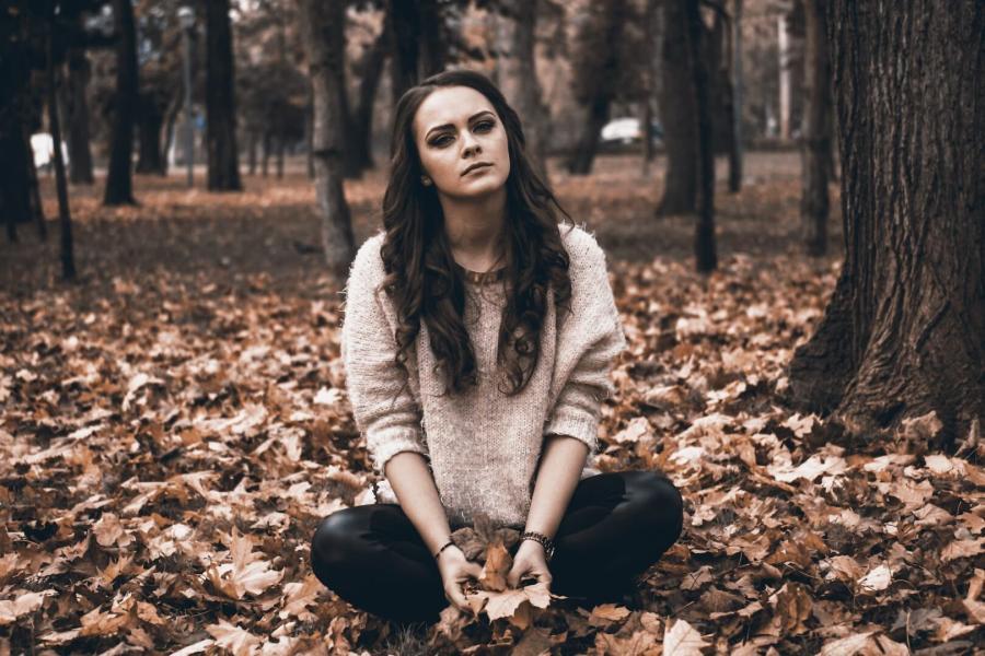 Photo personne en dépression saisonnière www.luminotherapie-formation.com Martine Roux
